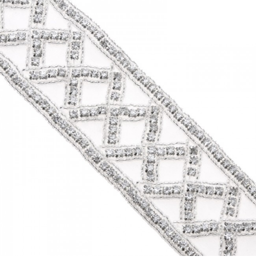 rhinestone trim rt004