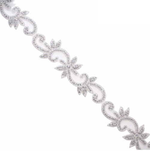 rhinestone trim rt005