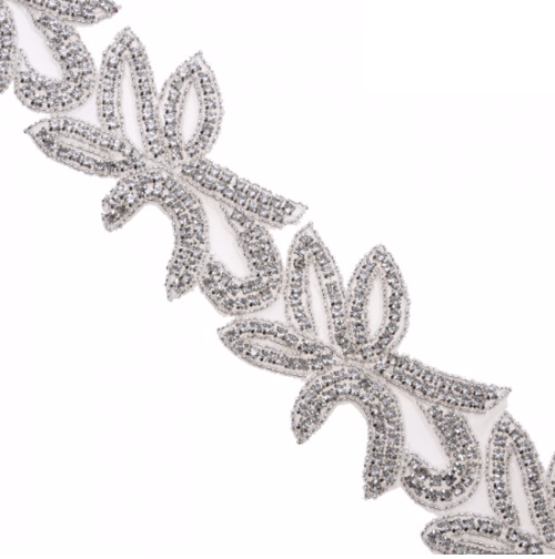 rhinestone trim rt007