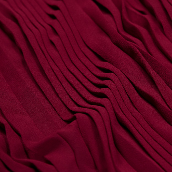 rhodedendrum accordion pleated chiffon 314077 11