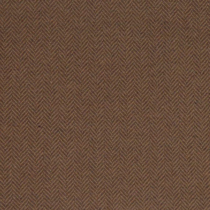 rich beige herringbone wool cashmere coating fw25024 11
