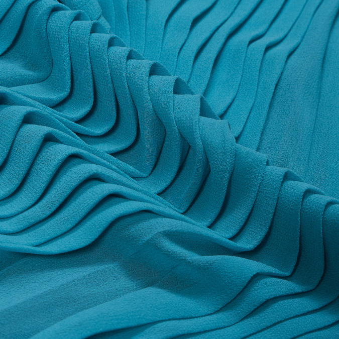 river blue accordion pleated chiffon 314072 11