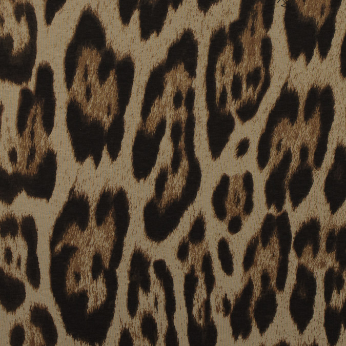 roberto cavalli beige and brown jaguar printed cotton jersey 315877 11