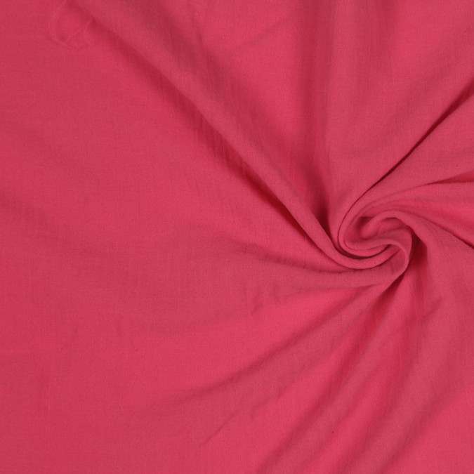 rogue red double faced crinkled cotton gauze fc25075 11