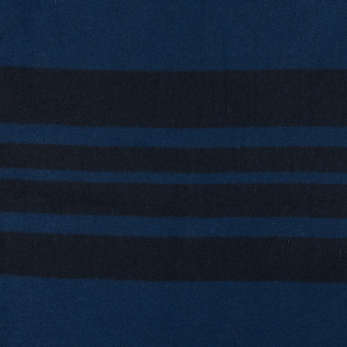royal blue and black striped wool coating 317243 11