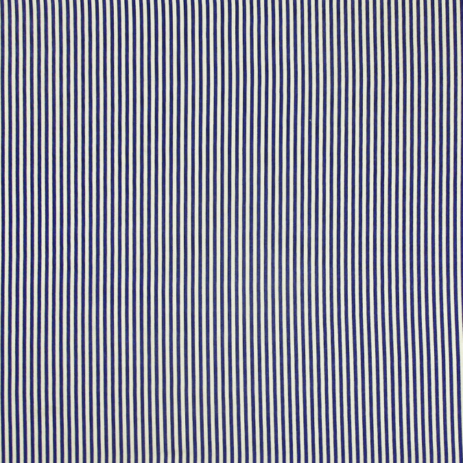 royal blue white candy striped cotton voile 308266 11
