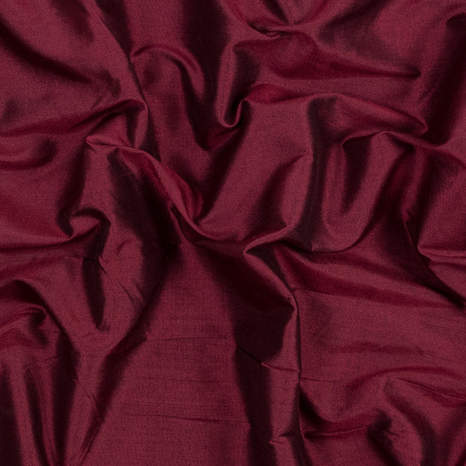 ruby wine and black iridescent silk woven fs23524 11