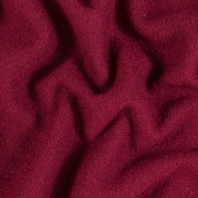 rumba red solid boiled wool 313443 11