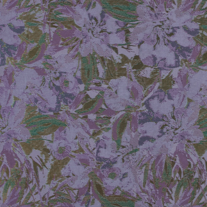 rust lilac and ivory abstract floral jacquard 318352 11