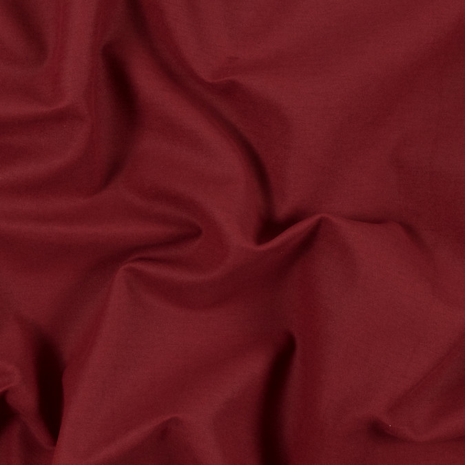 rust and white double faced brushed cotton twill 313970 11