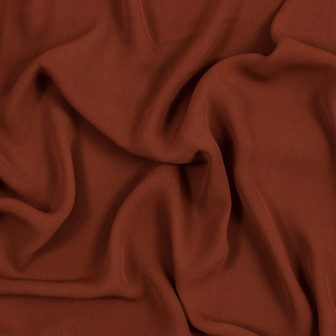 rust polyester double georgette 319669 11