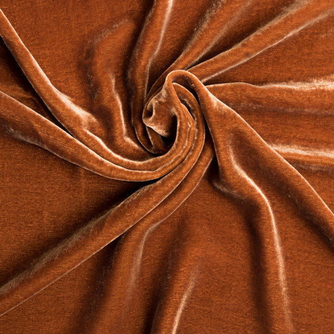 rust soft rayon silk velvet 309342 11
