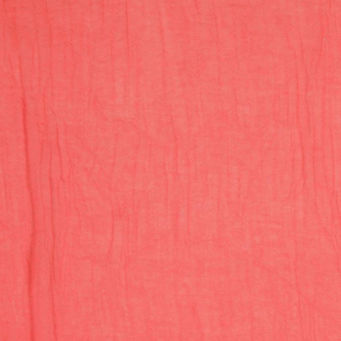 salmon crinkled cotton gauze fc25124 11