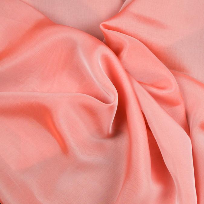 salmon silk iridescent chiffon fsisc 18670 11