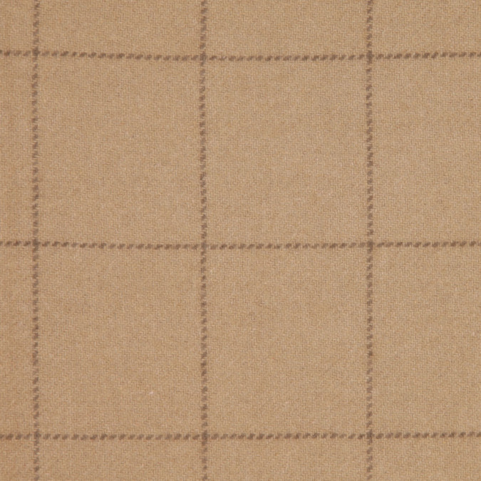 sand checks cashmere coating fw25436 11
