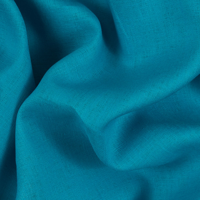 scuba blue medium weight linen 310681 11