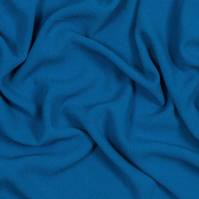 sea blue polyester crepe 319668 11