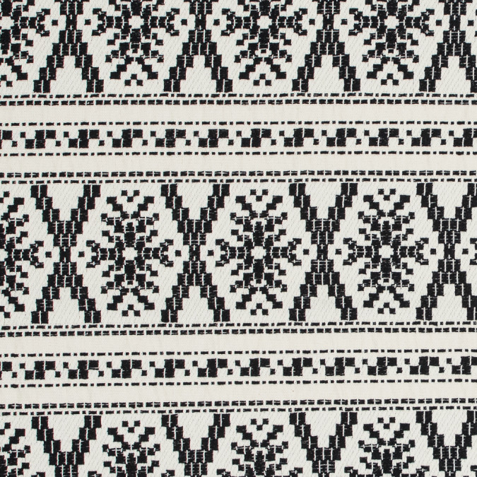 sea ny black and cream tribal cotton woven 317995 11