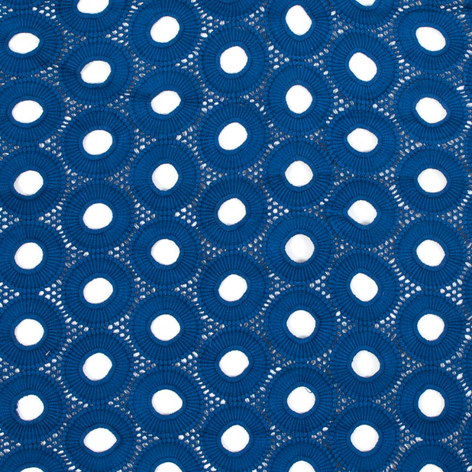 sea ny cobalt geometric cotton guipure lace 318006 11