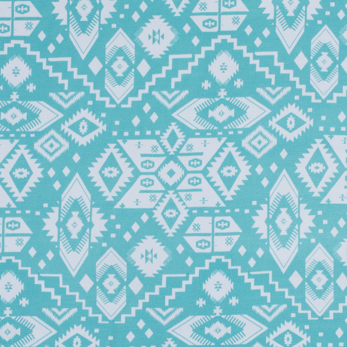 seafoam and white tribal printed jersey 316452 11