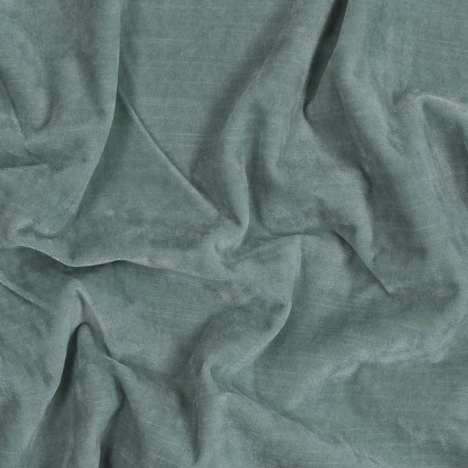 seafoam green cotton velveteen 319327 11