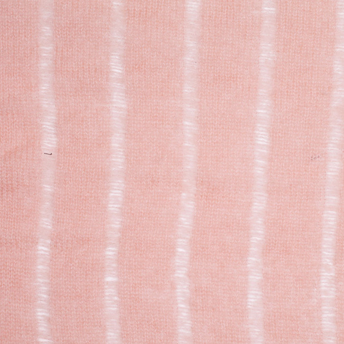 seashell pink loosely knit wool mohair 305905 11