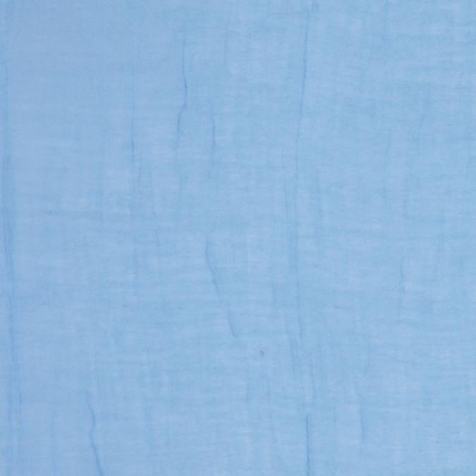 sheer sky blue crinkled gauze fc25084 11