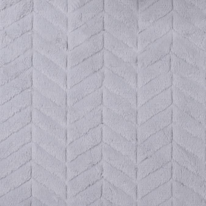 silver herringbone grooved faux fur 312842 11