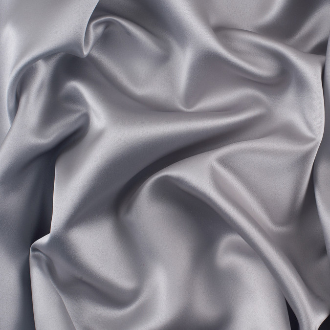 silver solid polyester satin ms silver 11