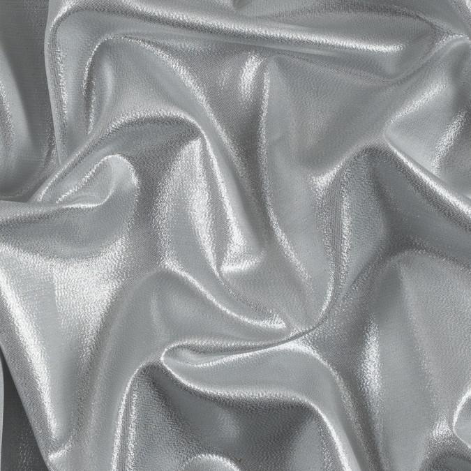 silver white metallic polyester lame 311052 11