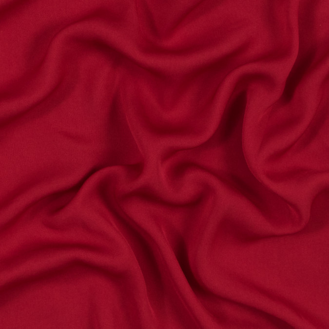 smashing red brushed polyester georgette 317631 11