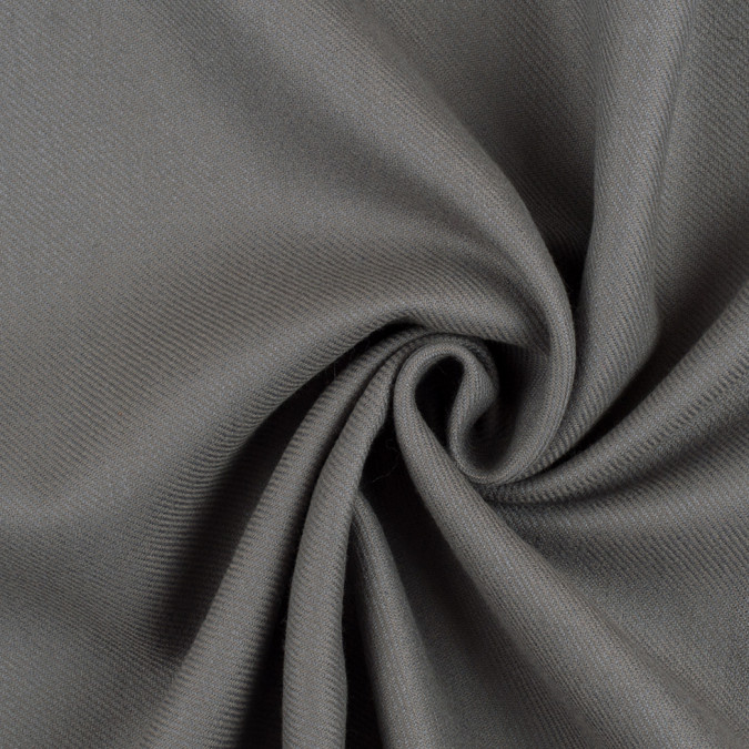 smoked pearl gray blended wool twill 308594 11