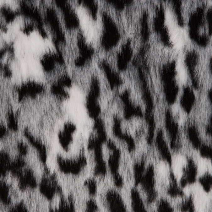 snow leopard knitted faux fur 309106 11