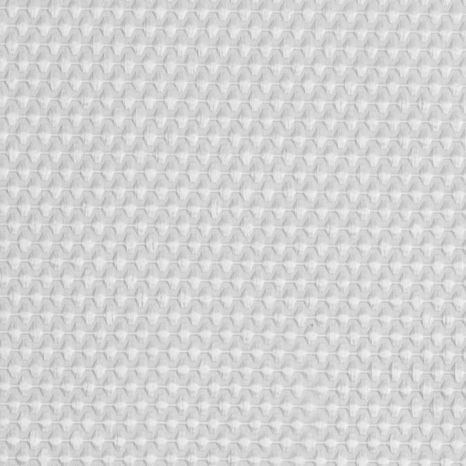 snow white stretch woven bullseye pique 111322 11