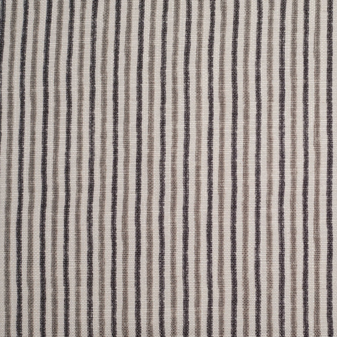 spanish gray striped poly cotton canvas 108797 11