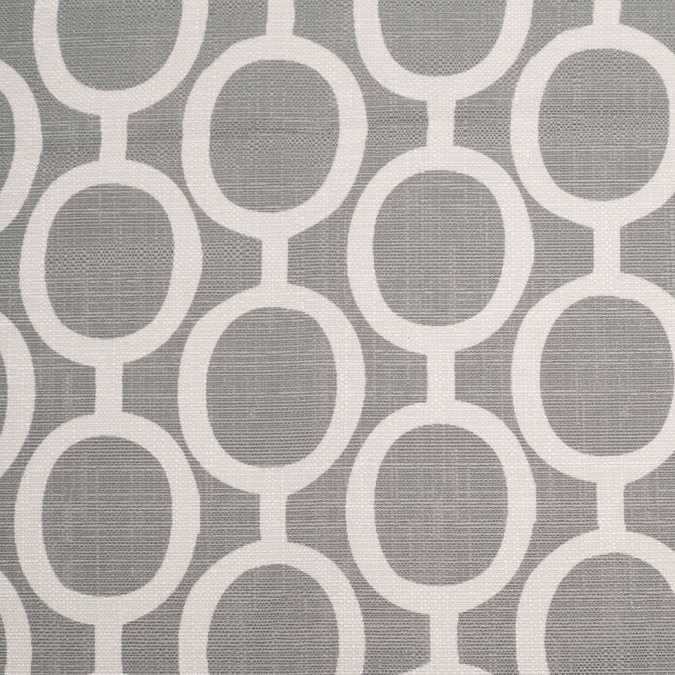 spanish gray white geometric poly cotton canvas 108480 11