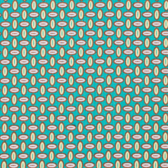 spectra green geometric printed cotton batiste 304476 11