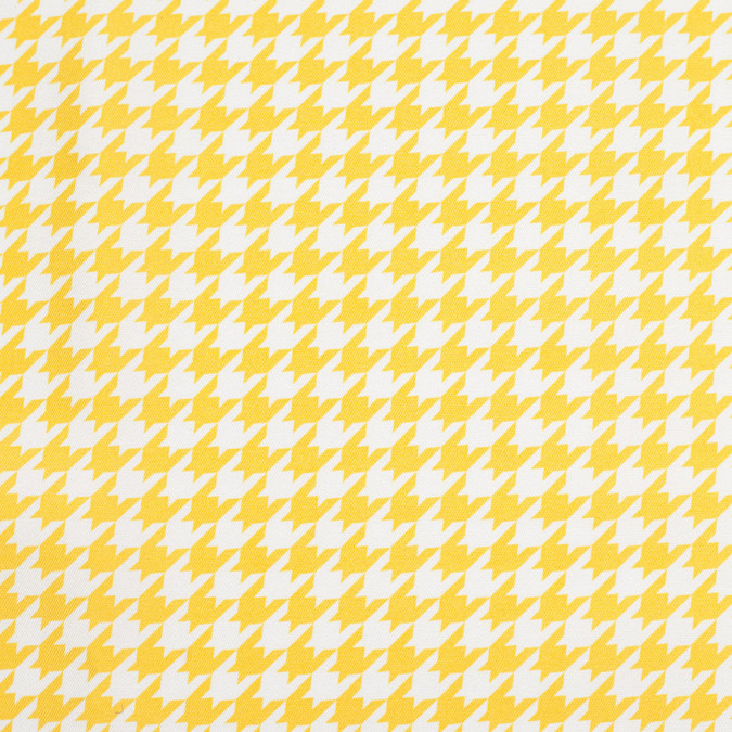 spectra yellow houndstooth satin faced twill 306014 11