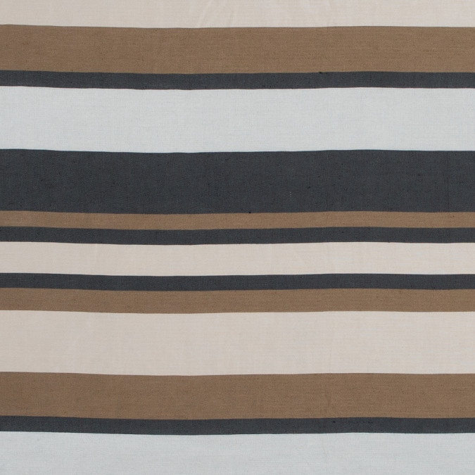 spiced latte barcode striped rayon shantung 317447 11