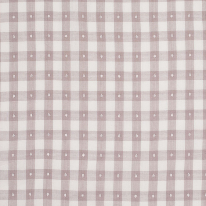 steven alan beige ecru checkered cotton shirting 303793 11