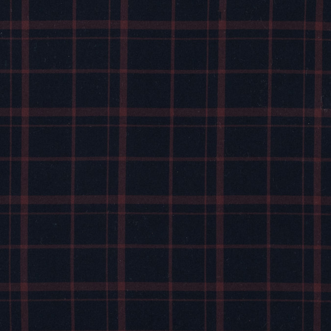 steven alan total eclipse and mahogany plaid cotton twill 315445 11