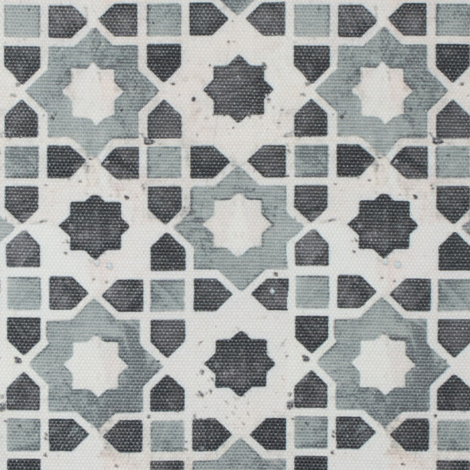 stone geometric floral outdoor canvas 115766 11