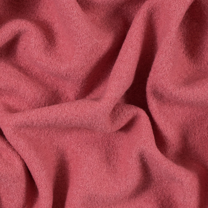 strawberry pink solid boiled wool 313436 11