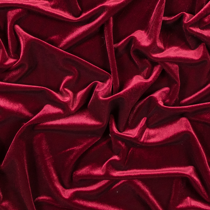 sultan red stretch velour 316415 11