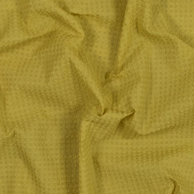 sunshine yellow checkered puckered woven 318501 11
