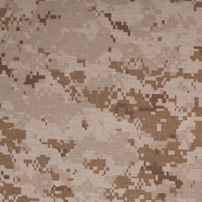 tan brown digital camouflage printed polyester canvas 305801 11
