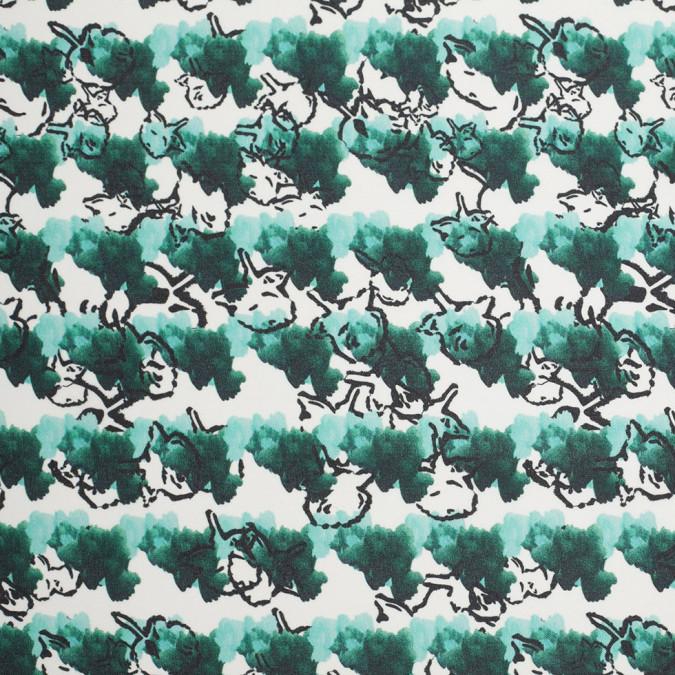tanya taylor green abstract floral silk gazar 307464 11