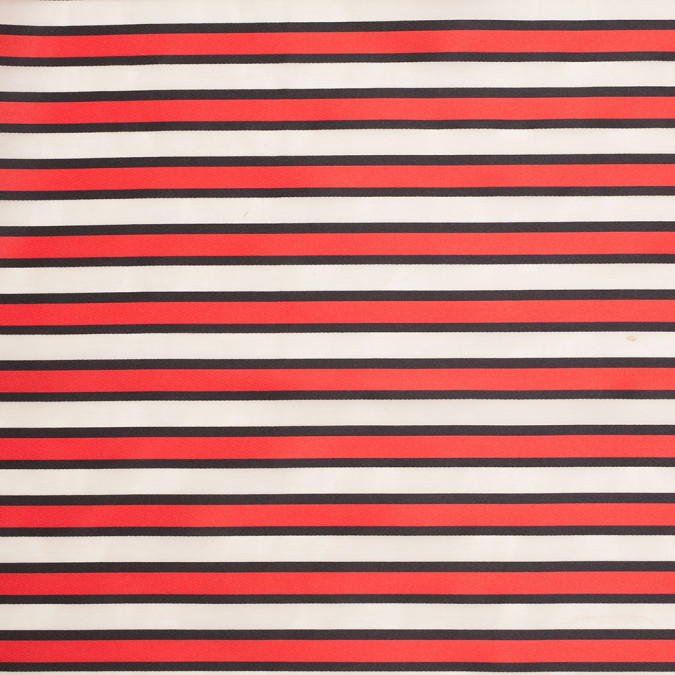 tanya taylor red striped polyester cotton organza organdy 307467 11