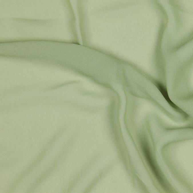 tarragon green silk crepe georgette fs22998 11