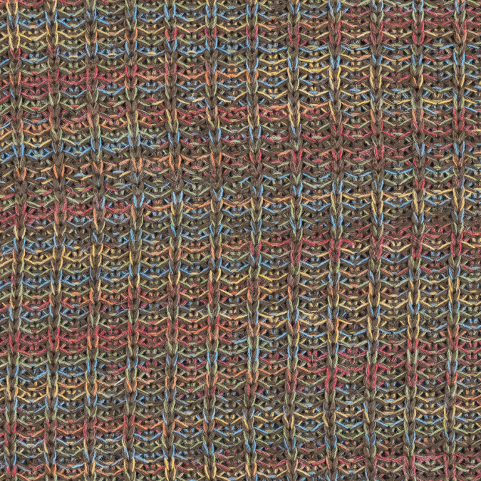taupe multicolor chunky wool sweater knit 319647 11